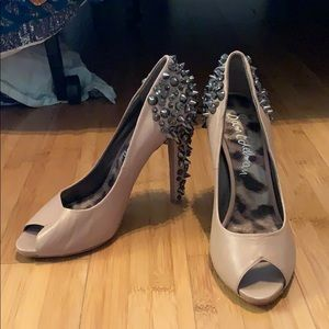 Sam Edleman Nude Heels with studs